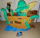 Thomas And Friends Adventures Sea Monster Ship Playset WITH TRAIN