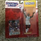 Lot of 6 Larry Johnson 1994 starting lineup action figure with player card