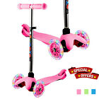 3 Wheels Scooter Skate Ride Kids Child Toddler Girl Toy Play Free Ship USA