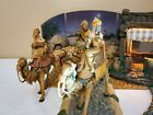 Fontanini Vintage 1983 Three Kings Wisemen on Camels Nativity Set 5 Heirloom