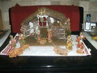 Fontanini Heirloom Nativity Collection 1992 Barn and Most figures w cards NICE