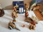 FONTANINI 12 PIECE LOT FAITH 5th Angel RARE LIGHTED STAR Thomas