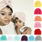Indian Women&Baby Knot Bonnet Chemo Cap Hijab Turban Hats Beanie Head Scarf Wrap