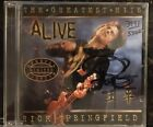 Rick Springfield The Greatest Hits Alive 3991/5500 NEW Signed Limited Edition