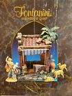 Fontanini Nativity Set Shepherds Camp Building 5 Figurines Lighted Heirloom