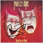 MOTLEY CRUE Theatre of Pain, VINCE NEIL & NIKKI SIXX Sweet Home Autograph SIGNED