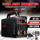 Us 225a Mini 4200w Mma Arc Welder Igbt Welding Inverter Machine 10pcs Kit Set