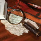 BRASS ANTIQUE MAGNIFYING GLASS