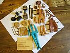 1960s Marx Jane  Johnny West Action Cowboy Cowgirl Figures  Many Accessories