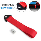 2T Tow Strap Towing Rope Racing Car Universal Tow Trailers Eye Belt Strap Nylon