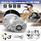 250W Electric Bike Components Conversion Kit Motor Controller fit 22 28Bicycle