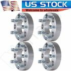 Full Set 15 5x55 to 5x5 Wheel Spacers Adapter For Ram 1500 Ford F 150 Jeep