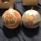 2 Vintage Betsey Clark Ornaments 1979 And 1981