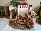 Fontanini BASKET SHOP Lighted 5 Nativity Set Collection Building 50522