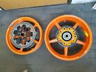 11-16 KTM RC8 1190 FRONT REAR MARCHESINI RIMS WHEELS BREMBO ROTORS HUB SPROCKET