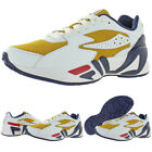 Fila Mens Mindblower Leather Mid Top Athletic Fashion Sneakers Trainers