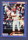 1998 Kenner Starting Lineup Classic Doubles Cards #2 Johnny Bench