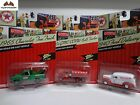 Johnny Lightning Texaco 65 Chevrolet Tow Truck GMC CCKW 40 Ford Delivery - 17O