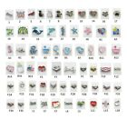 Floating Charm for Glass Lockets ANIMAL AWARENESS BABY FAMILY LOVE