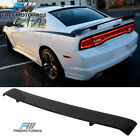 Fits 11-20 Dodge Charger SRT8 Glossy Black Trunk Spoiler Wing - ABS