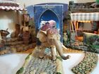 FONTANINI ELEPHANT w BLANKET 5 NATIVITY SET VILLAGE ANIMAL 72525 HEIRLOOM