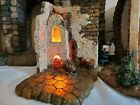 Fontanini Lighted Courtyard 5 Nativity Set Retired Village Heirloom 55542