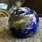 Lovely Lundberg Studios World Map Paperweight