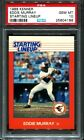 PSA 10 1988 Kenner Starting Lineup Eddie Murray * pop 5 *