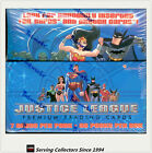 NON-SPORTS FACTORY BOX: JUSTICE LEAGUE TRADING CARD BOX ( 36 packs) X 2 BOXES