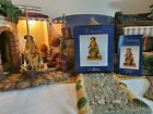 FONTANINI ALLON BASKET WEAVER 5 NATIVITY SET VILLAGER HEIRLOOM NEW