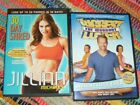Lot of 2 DVDs The Biggest Loser Workout Jillian Michaels 30 Day Shred