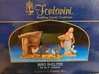 Fontanini BIRD SHELTER 5 NATIVITY SET Collection BUILDING 56599 HEIRLOOM 2004