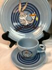 What's Cookin' Doc ? Fiesta blue 3 pc set Looney Tunes Warner Bros