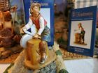 Fontanini SILVANUS Knife Sharpener 5 Nativity Set Villager 57549 HEIRLOOM NEW