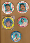 LOT OF 5 SETS COLLECTORS EDITION ROUND BASEBALL CARDS JAYS KING B JIFFY POP
