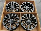18 LEXUS GX460 GLOSS BLACK WHEELS RIMS FACTORY OEM GX470 GX 460 470 SET 4 74297