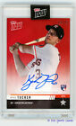 2019 Topps NOW Road to Opening Day Auto Kyle Tucker RC RED 03 10 Astros