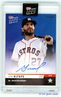 2019 Topps NOW Road to Opening Day Auto Jose Altuve BLUE 38 49 Astros