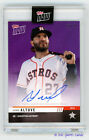 2019 Topps NOW Road to Opening Day Auto Jose Altuve PURPLE 23 25 Astros