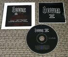 PANTERA DOWN II Sampler w/ STICKER & INTERVIEW PROMO CD Corrosion of Conformity