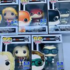 Funko Pop! The Big Bang Theory Heroes 5 Pack Lot Bundle 2019 SDCC Exclusive