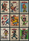 1965 Topps Ugly Stickers Trading Cards 18