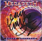 MEGADETH Super Collider DAVE MUSTAINE David Ellefson Rust Peace Autograph SIGNED