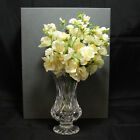 Waterford Mothers Day Vase 2001 7th Edition w Flowers Signed