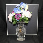 Waterford Mothers Day Vase 2008 2nd Edition Vase w Flowers
