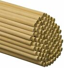 Wooden Dowel Rods 1 x 48 Unfinished Hardwood Sticks by Woodpeckers