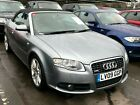 2009 AUDI A4 CABRIOLET 20 TDI FINAL EDITION CONVERTIBLE LEATHER NAV FABULOUS
