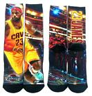 * Lebron James #23 Cleveland Cavaliers Starting Lineup Socks Mens Medium 5-10