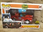 Toy Tokyo Exclusive FUNKO POP RIDES RED BATMOBILE - Sealed