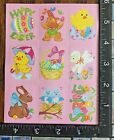 EASTER SPRING TIME  ONE SHEET BEAUTIFUL VINTAGE STICKERS PRIMA7
